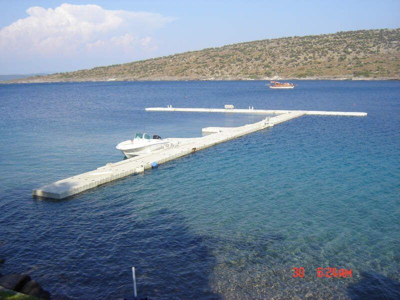 embarcadero flotante marino