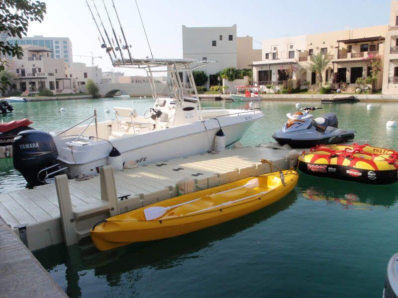 embarcadero particular flotante