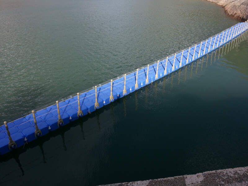 pasarela acuatica