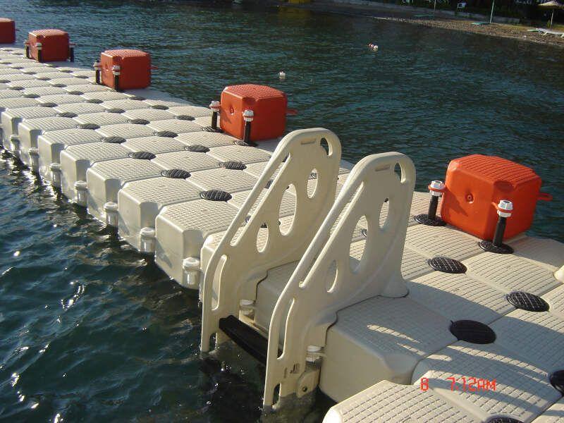 piscina flotante modular